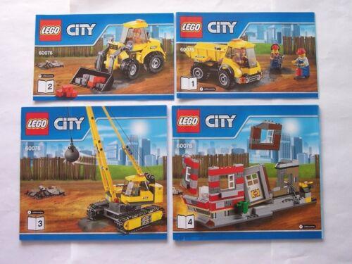 LEGO® Bauanleitung Instruction Nr 60076