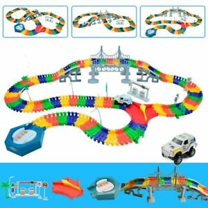 Magic Track Toy Educational Accessories Magic Rail Car Toys For Children's
