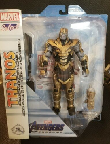 Marvel Select Thanos Avengers Issue Disney Diamond Toys Exclusive New