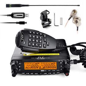 TYT-TH7800-Dual-Band-Dual-Display-Repeater-Car-Ham-Radio-walkie-talkie-Micphone