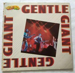GENTLE-GIANT-LP-SUPERSTAR-33-GIRI-VINYL-ITALY-1982-CURCIO-EDITORE-SU1026-NM-VG