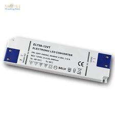 "LED Trafo ""Super-SLIM"" 12V DC 50W Transformator für LEDs EVG, Treiber, Netzteil"