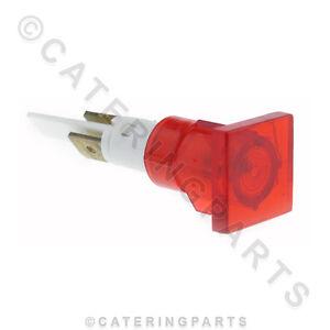 Business & Industrie Bäckereiausstattung Radient Ne40 Universal Rot Rechteckig Neon Blinkleuchte 16mm X 16mm Für 12mm Loch