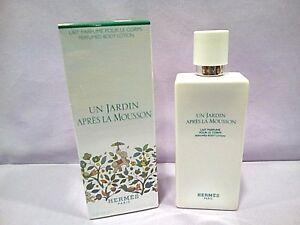 Unisex Jardin Apres Corps La Hermes Le Parfume Un Pour 200 Ml Details About Mousson Lait 0wvOmN8yn