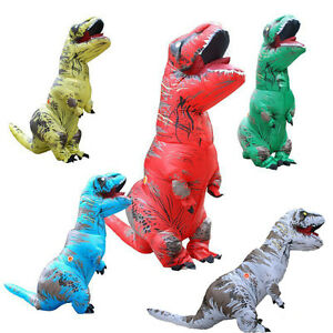 image is loading dinosaur mascot costume inflatable t rex halloween cosplay