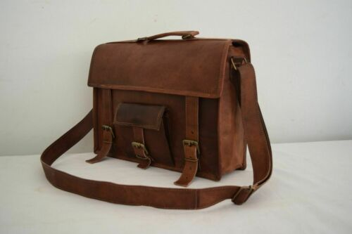 Vintage Leather Laptop Messenger Bag 13 Inch MacBook Pro//Air Satchel Crossbody