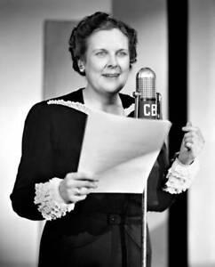OLD-CBS-RADIO-PHOTO-Portrait-Of-Radio-Actress-Katharine-Raht-1941-2