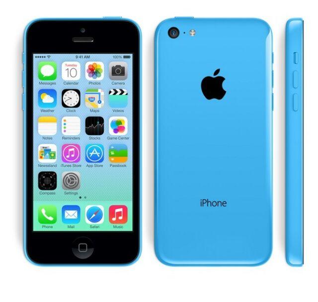 APPLE IPHONE 5C 8GB AZZURRO BLU GRADO B + ACCESSORI + GARANZIA - RICONDIZIONATO