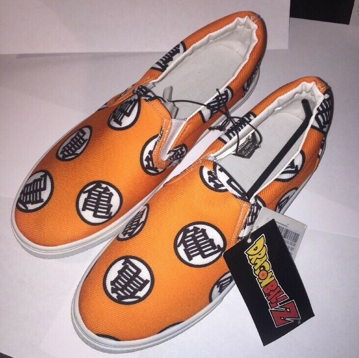 Dragon Ball Z Quick Turn Core Deck Shoes. Brand New. Adult Size 8 Limited Ed.