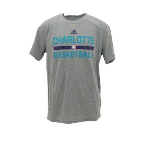 Charlotte-Hornets-Official-NBA-Adidas-Climalite-Kids-Youth-Size-Athletic-T-Shirt
