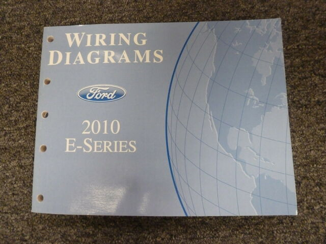 2010 Ford E150 Van Wagon Electrical Wiring Diagram Shop Service Manual Xl Xlt