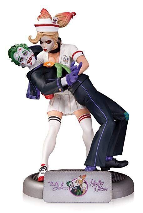 DC Collectibles DC Comics Bombshells  el Joker y Harley Quinn estatua