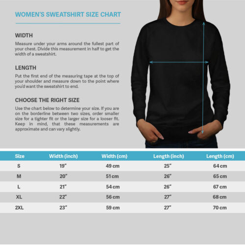 Wild Casual Pullover Pull Wellcoda cheval Cool Imprimé Femme Sweat-shirt