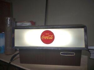 Vintage 1960's Coca Cola Lighted Fountain Dispenser Rare WORKS