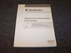 1999 2000 2001 Suzuki Grand Vitara SUV Electrical Wiring ...