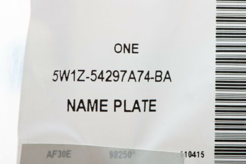 2005-2011 Lincoln Town Car Signature Limited Emblem OEM BRAND NEW Genuine