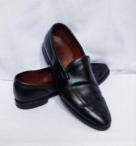 Allen-Edmonds-Steen-Loafer-Slip-On-Dress-Shoes-Men-13-D-Black-Leather