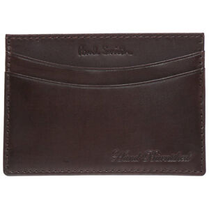 Paul Smith Credit Card Business Card Case HAND CRAFTED BURNISHED LEATHER