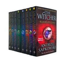 Witcher Series Andrzej Sapkowski 8 Books Collection Set The Last Wish - Netflix