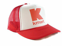 Kmart Trucker Hat Mesh Hat Snapback Hat Red
