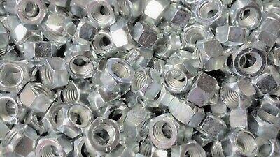 Initiative 111 Stück Sechskantmuttern M12 Mit Metall-klemmteil Din 6925 Stahl Verzinkt Neu
