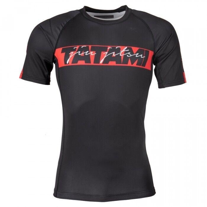 Tatami Rojo Barra Bjj Camiseta de  Neopreno Hombre Jiu-Jitsu Mma Manga Corta  A la venta con descuento del 70%.