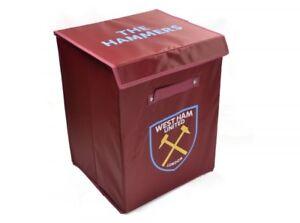 West-Ham-Football-Club-Bedroom-Storage-Laundry-Toy-Box-With-Club-Crest-Claret
