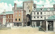 Vintage Postcard Market Place Hexham Northumberland, England