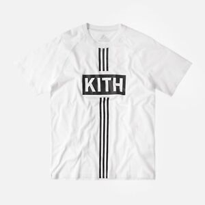separation shoes online shop new lifestyle Details about 🔥 Kith x Adidas Soccer Classic Box Logo Tee Cobras Home 2017  🔥