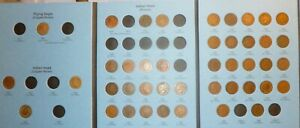 1857-1909-Flying-Eagle-Indian-Head-Cent-Collection-IC43-New-Whitman-Folder