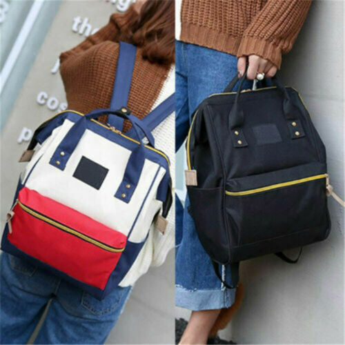 Women Backpack Bag Large Travel Satchel Rucksack Laptop Shoulder School Purse