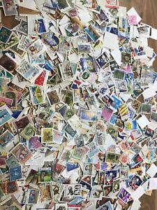 Australia-stamps-100x-picked-at-random-off-paper-kiloware