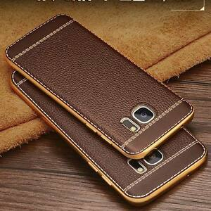 huge selection of 62fe2 9030d Details about Ultrathin PU Leather Back Skin Case Cover For Samsung Galaxy  S8 Note 8 J3 J5 J7