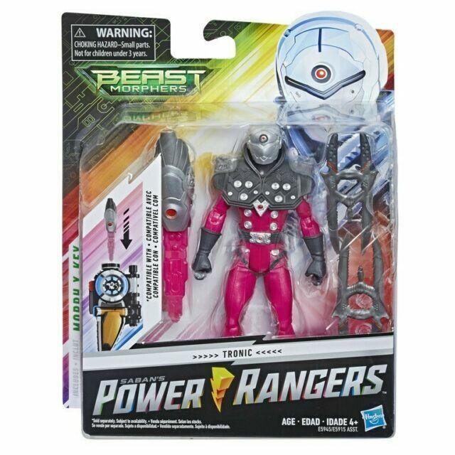 Power Rangers Beast Morphers Tronic Action Figure Hasbro
