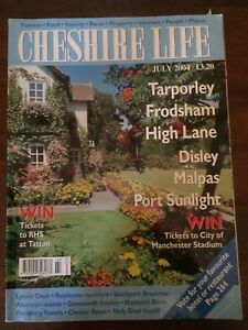 Cheshire-Life-Magazine-July-2004-Tarporley-Frodsham-Malpas-Port-Sunlight