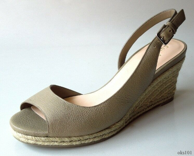 New COLE HAAN Air 'Adelaide' khakis taupe WEDGES shoes shoes shoes 7.5 - GREAT STYLE 63a449