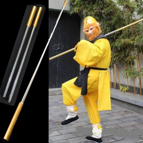 "L 64/"" Wushu Martial arts stick Monkey King Golden cudgel igh quality steel #0096"