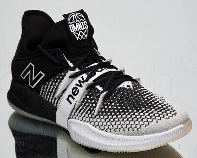 new balance omn1s low men's kawhi leonard black white