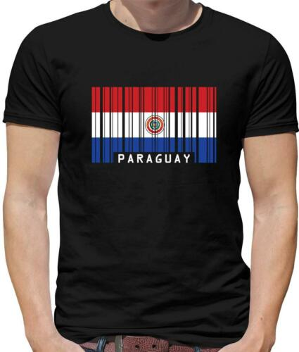Country Flags Paraguay Flag Mens T-Shirt Asuncion South America Flags