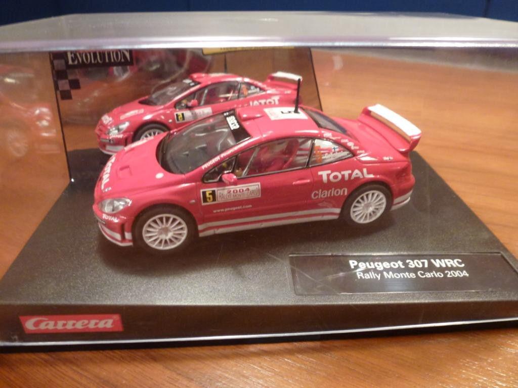 CARRERA Evolution Auto PEUGEOT 307 WRC Rally Rally Rally Monte Carlo 2004 25731 NEU OVP  | Hohe Qualität  1a360b
