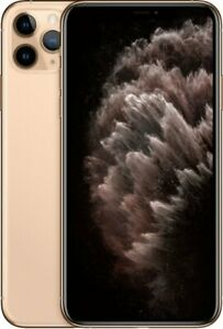 Apple iPhone 11 Pro Max 64GB Gold LTE Cellular AT&T MWFC2LL/A