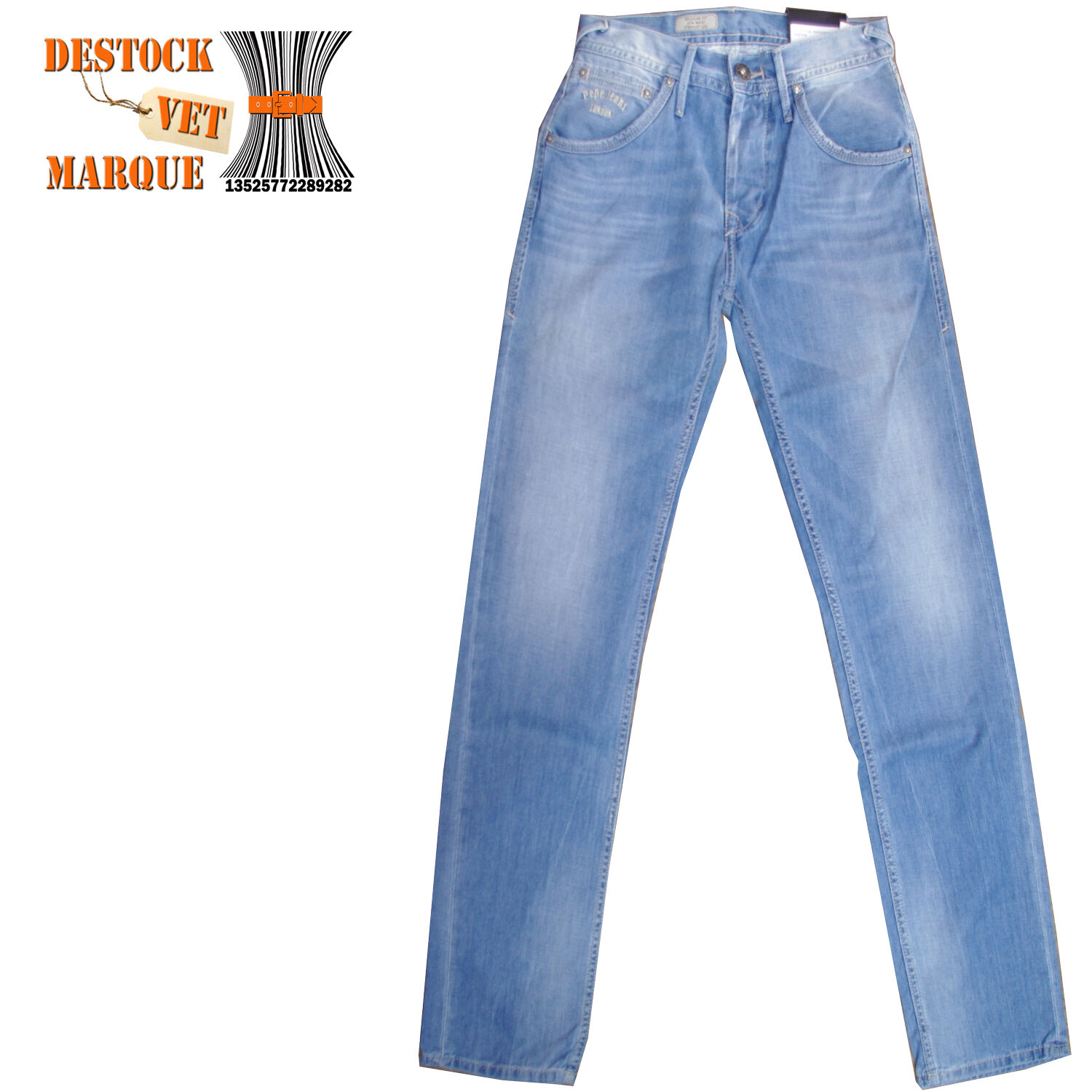 PEPE JEANS  LONDON Jeans regular HOXTON used homme W 28 L 32 size US