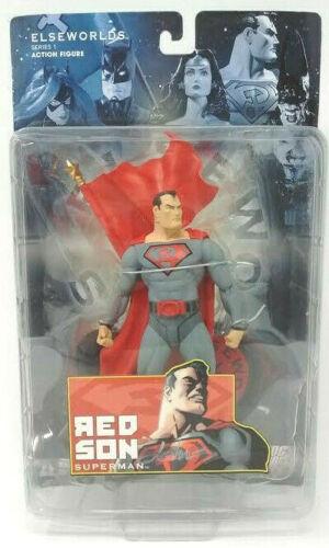 DC Elseworlds Series 1 ROUGE fils Superman Action Figure Dave Johnson autographié