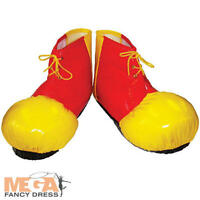 Clown Adult Shoe Covers Fancy Dress Fun Circus Mens Ladies Costume Accessory