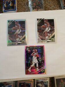 2019-20-Donruss-Optic-Khris-Middleton-Silver-Holo-Prizm-71-w-base-and-refractor