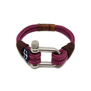 Burgundy-Sailing-Rope-Bracelet-Mens-Womens-Handmade-Nautical-Bracelet