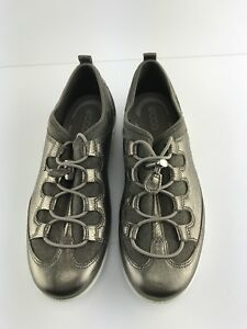cheap price lowest price quality products Details about EUC Womens Ecco Vibration II Gold Toggle Sneakers 8/39