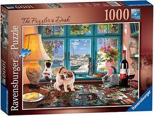 Ravensburger Puzzle 1000 pièces-Le mystère du bureau 198474 Neuf Scellé