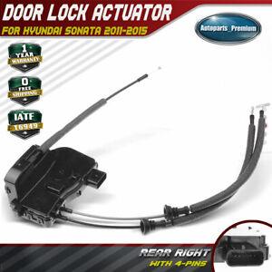 Door Lock Latch Actuator for Hyundai Sonata 2011-2015 Rear Left LH Driver Side