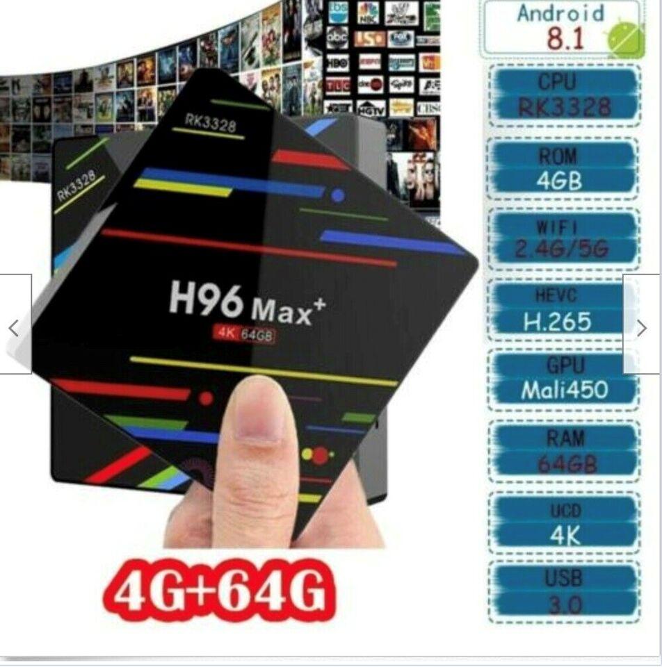 TV Box, H96 max, H96 max
